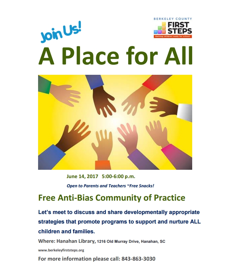 Free Anti-Bias Community of Practice - June 14, 2017