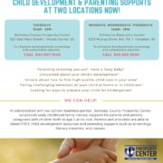 Parenting Supports offered at Prosperity Center in Moncks Corner and Hanahan